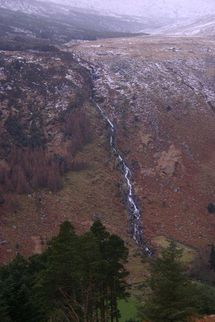 Glenmalure waterfall
