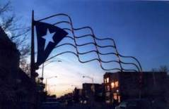 Paseo Boricua flag