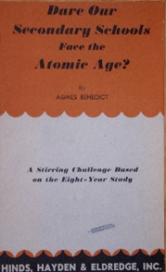 Benedict, Schools face the atomic age?