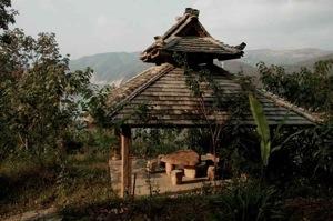 Tea pavilion in Yourantai