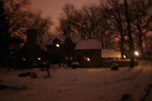 home at Christmas time