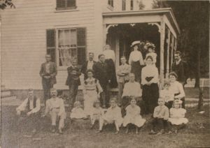 Camp family, 1900
