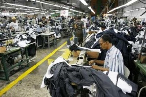 Haiti garment workers