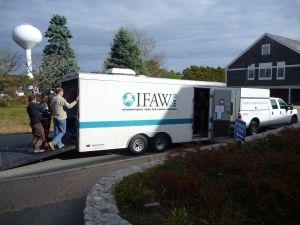 IFAW van