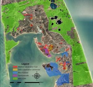 Map of WCT lands