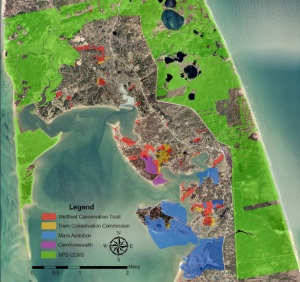 Map of WCT lands