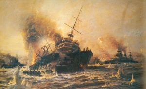 Diyarbakırlı Tahsin Bey,  Sinking of Battleship Bouvet