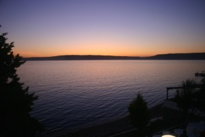 Sunset on the Dardanelles