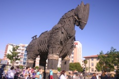 Kordon horse, from the movie