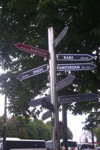 Directions to the world