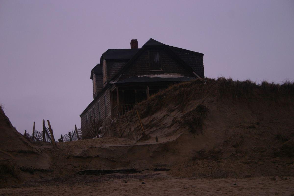 House near edge