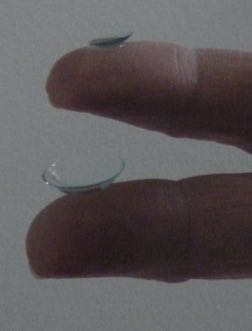 Scleral and corneal RGP lenses