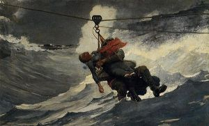 The Life Line, Winslow Homer, 1884