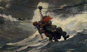 The Life Line, Winslow Homer, 1884