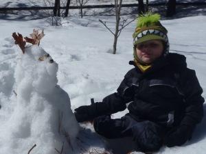 Ripley, the snow dog