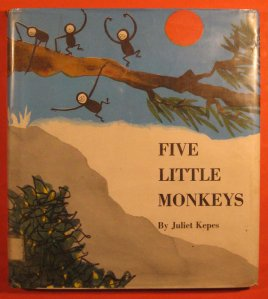Five Little Monkeys, Juliet Kepes