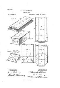 Stillwell patent, 1889