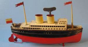 Toy ocean, cc 1940 liner http://scherbakshipmodels.tripod.com/