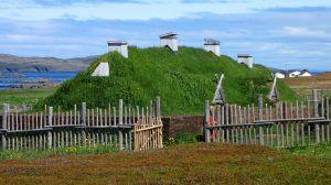 Recreated long house
