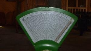 Calculator scale
