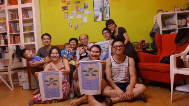 Yuangshan & family