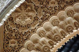 Arabesque decoration at the Alhambra