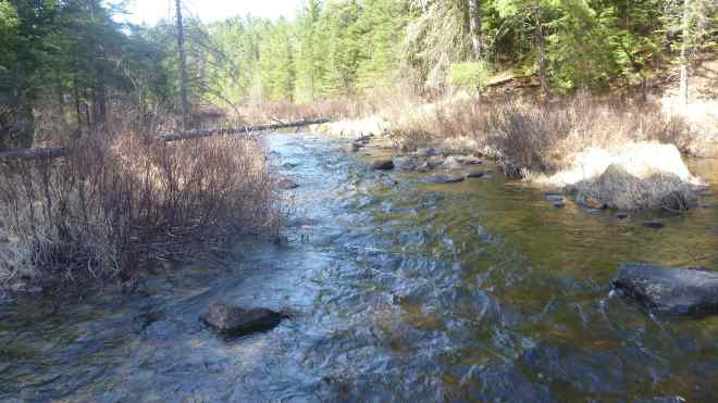 Stream between lakes