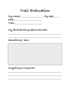 Trail evaluation