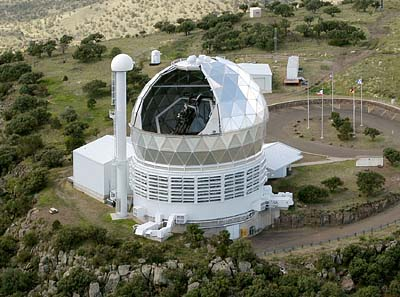 The Hobby-Eberly Telescope at the UT McDonald Observatory