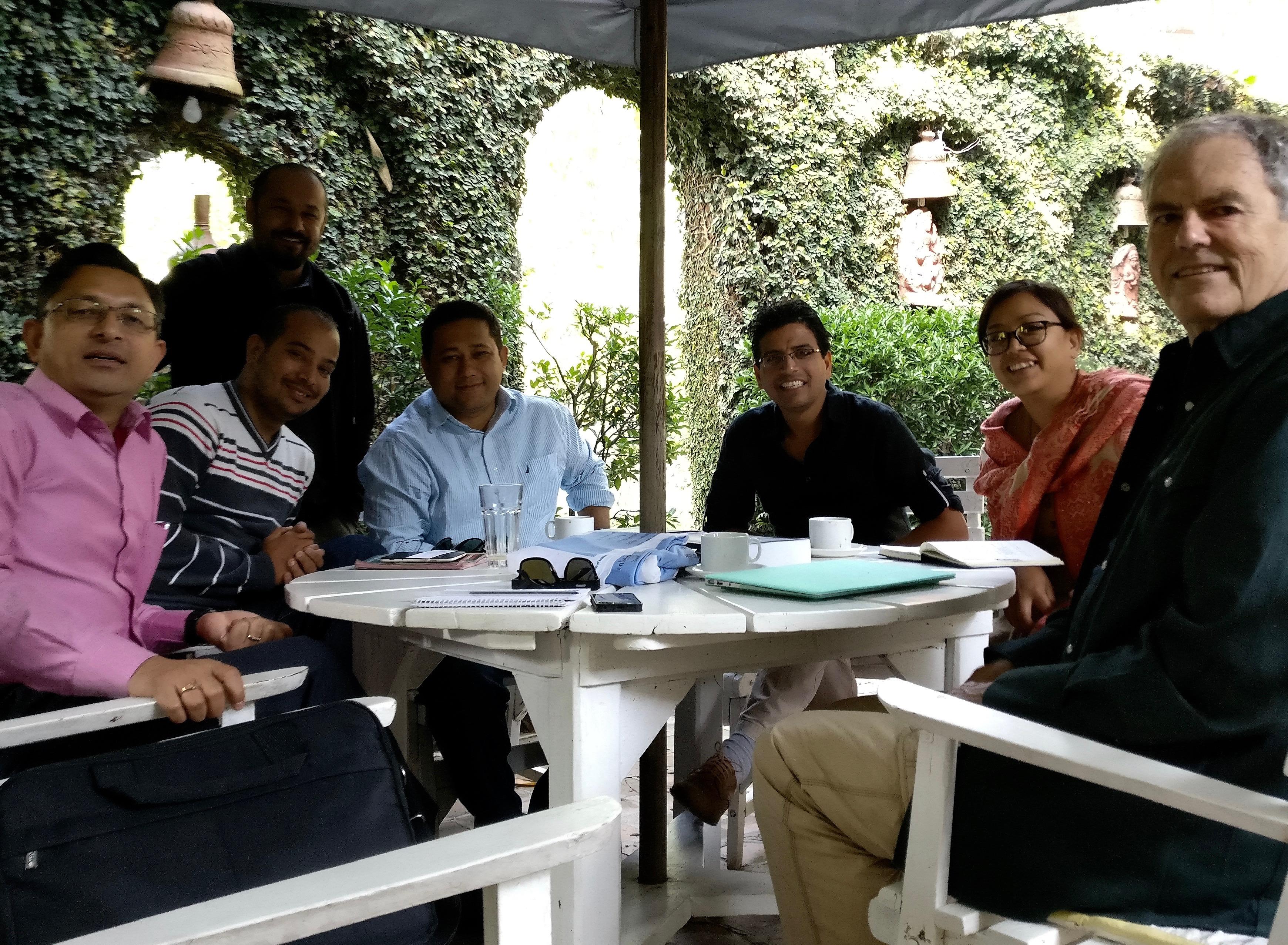 Inaugural meeting at Hotel Vajra, Kathmandu