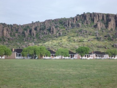 (Reconstructed) Fort Davis from 1854