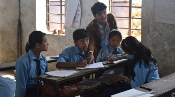 Teach for Nepal, from the website
