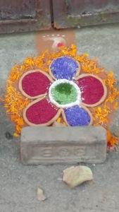 Rangoli for Tihar