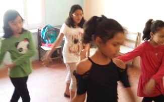 Learning Spanish through dance