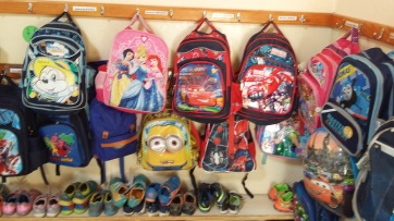 Backpacks of the little ones