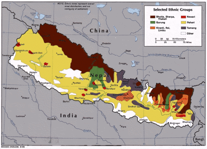Nepal ethnic groups