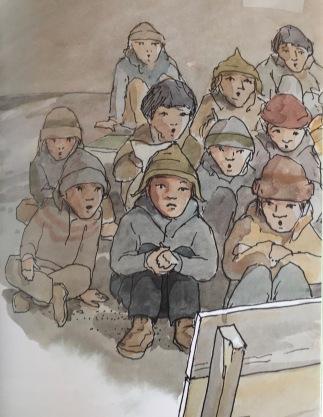 At sherpa school, grade 1