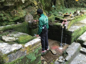 Water source and temple